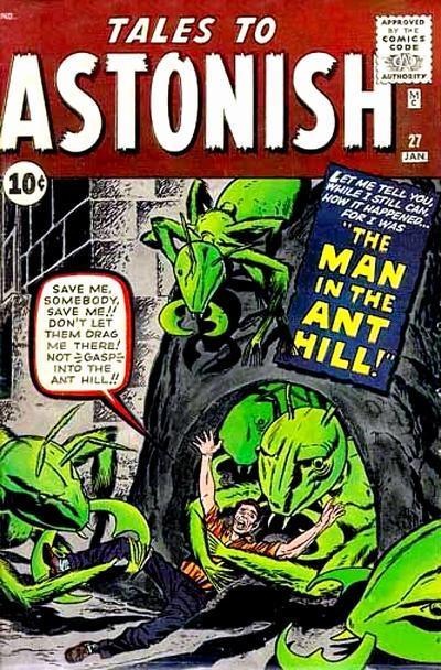 Pre-Avengers Hank Pym.