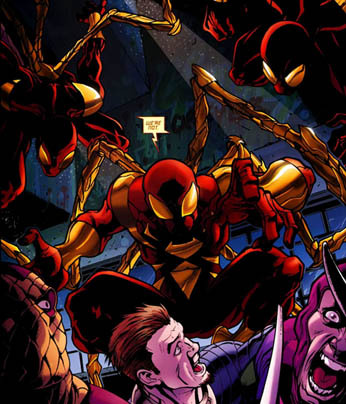 Scarlet Spiders vs Sinister Syndicate