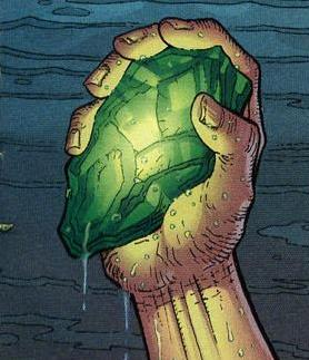 A chunk of Kryptonite