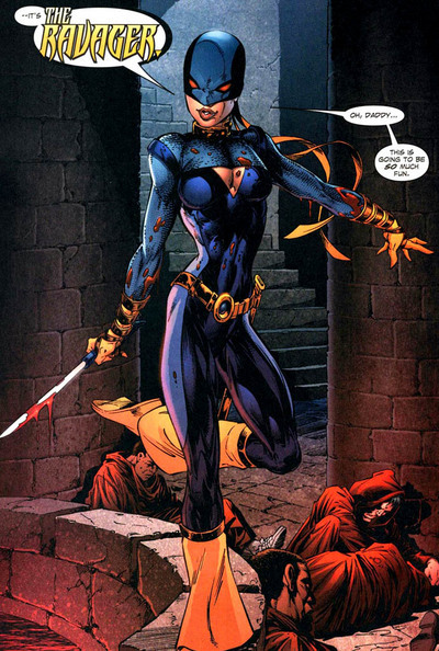 1st appearance as Ravager