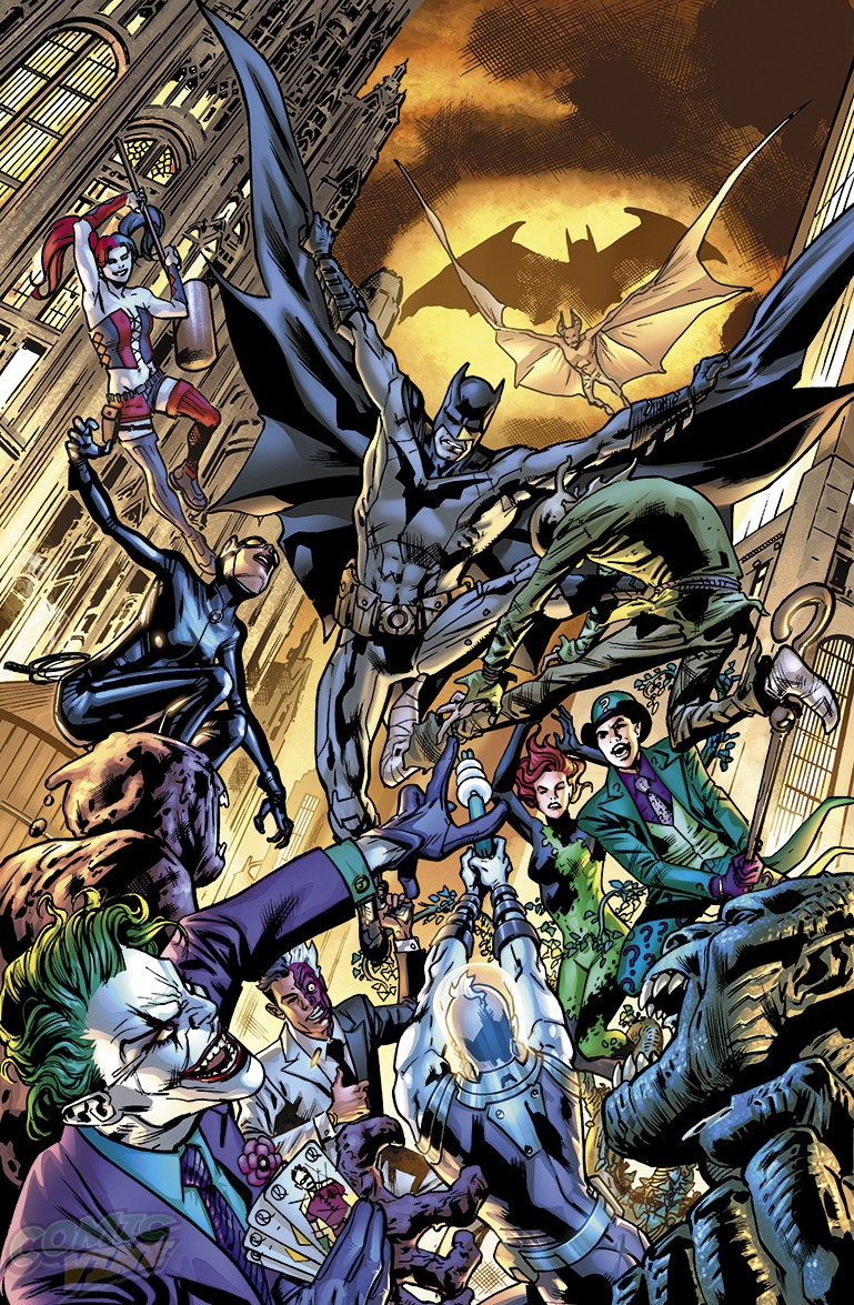 BATMAN #33 by Bryan Hitch