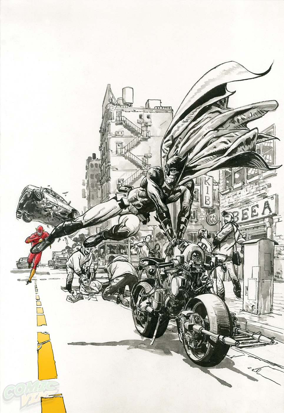 THE FLASH #33 by Kim Jung Gi