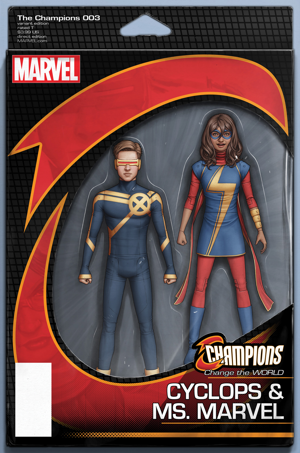 Cover #3 Action Figure variant