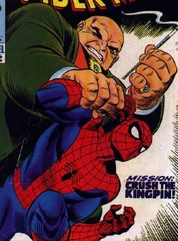 Facing prior defeats and foiled attempts, Fisk decided to end his threatening obstacle Spider-man once and for all, which only gained unwanted attention from authorities that forced him into hiding.
