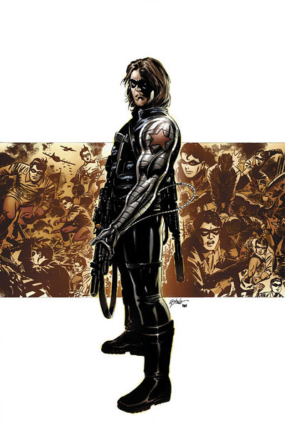 Bucky as Winter Soldier
