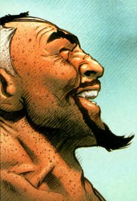 Sir Nicolas Fury loves his li'l goatee... even if it does make him look eeeeevil!!