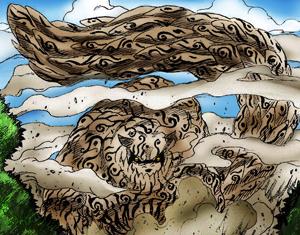 The One-Tailed Beast, Shukaku.