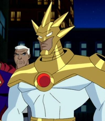 Aztek in Justice League Unlimited
