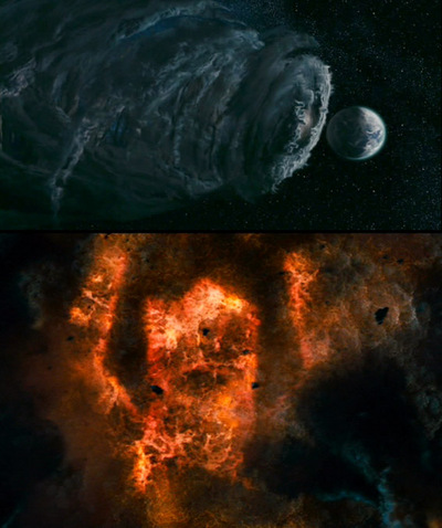 Galactus Makes An Appearance In The Fantastic Four Movie.