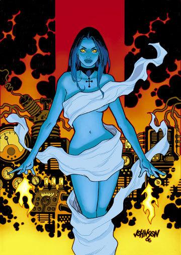 Liz Sherman the Pyrokinetic Hottie