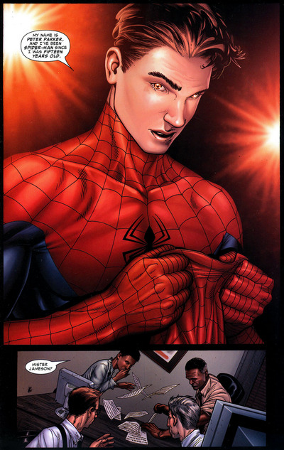 I am Peter Parker.