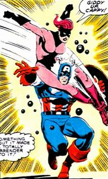 Getting the jump on Captain America