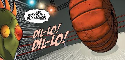 Here comes the roadkill slammer!!