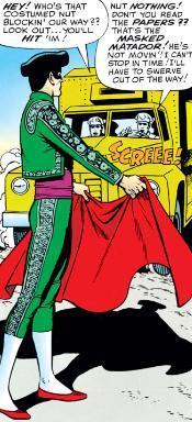 Manuel Eloganto is the original Masked Matador.