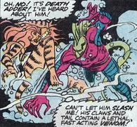 Tigra vs Death Adder.