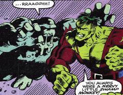 Glob vs the Hulk!