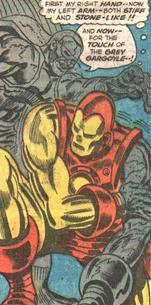 Grey Gargoyle vs Iron Man