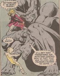 Julie & Katie Power befriend Dragon Man.