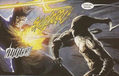 Needle vs Hellstorm.