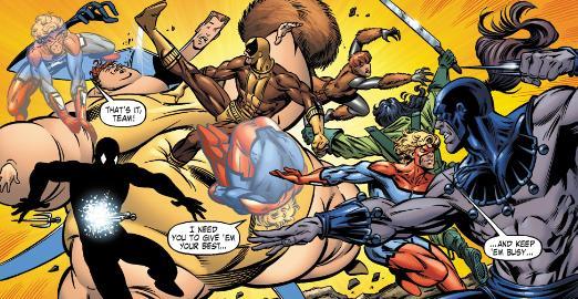 Batroc's Brigade vs Great Lakes Avengers.