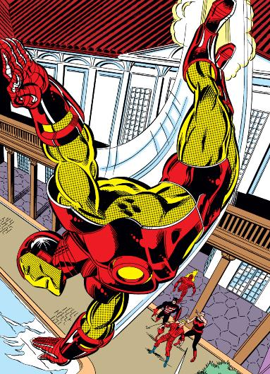 Tony's new armor after the Armor Wars.