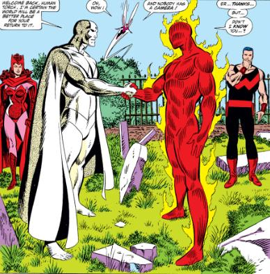 A momentous occasion with the West Coast Avengers.