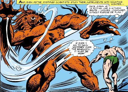 Namor faces the Behemoth!