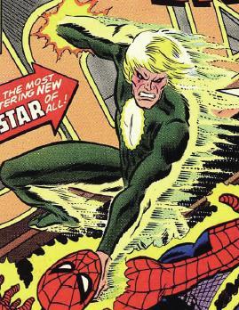 Battling Spider-Man