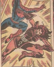 Fighting Spider-Man