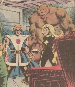 Three Heroes: Vanguard, Ursa Major and Darkstar