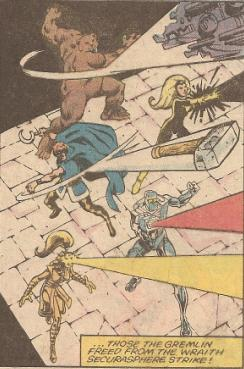 The team up with Rom and Starshine