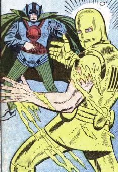 Iron Man meet the Melter!!