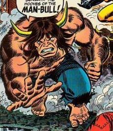 Man-Bull Rush!!