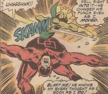 Mind-Wave battles Daredevil.