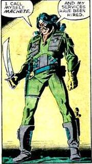 The deadly mercenary known as Machete.