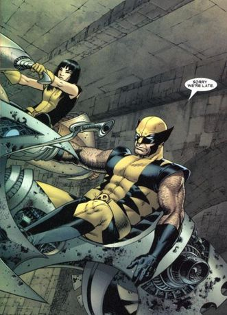 Armor and Wolverine