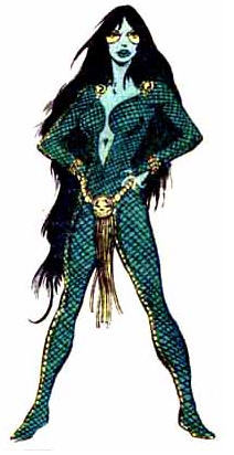 Gamora's Original Appearance.