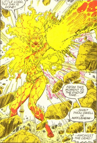 Magma the Asgardian Faerie