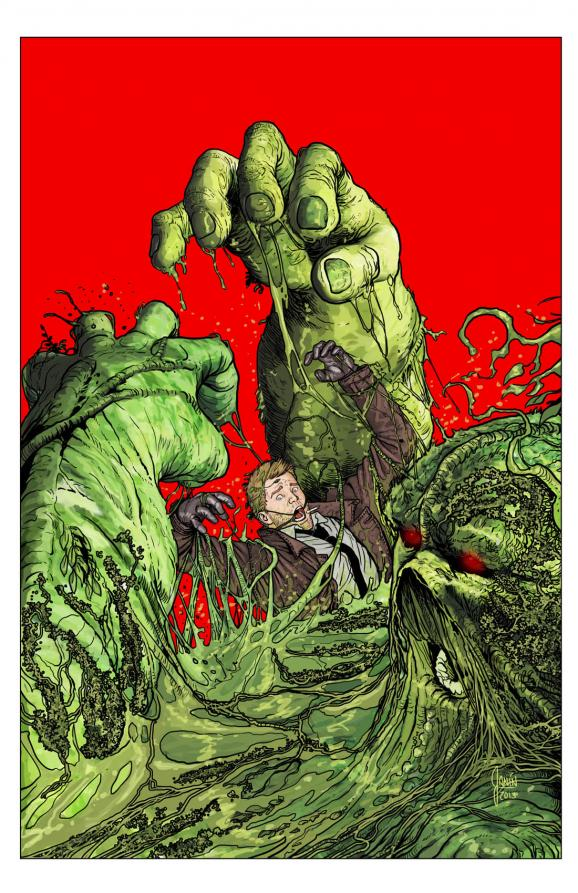 Cover to issue #25 by Mikel Janin.