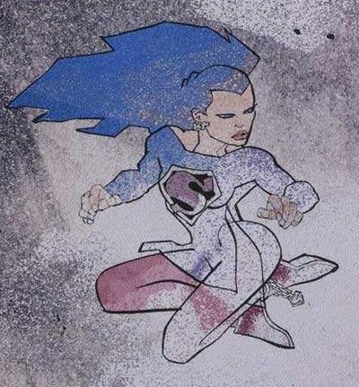 The Dark Knight Universe - Supergirl