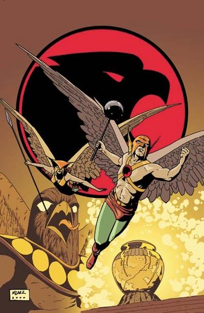 Golden Age Hawkman & Hawkwoman are back