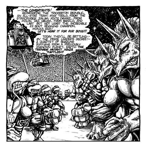 TMNT vs The Triceratons