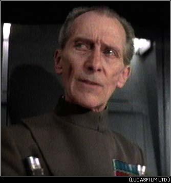 Commander of the Death Star Grand Moff Tarkin
