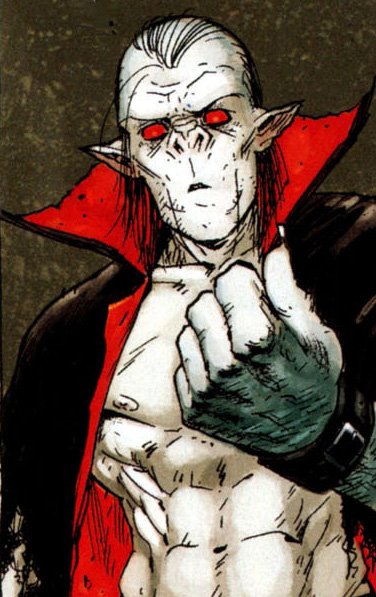 Morbius; then unofficial holder of the Bloodstone