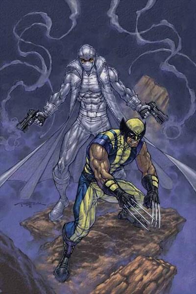 Fantomex and Wolverine