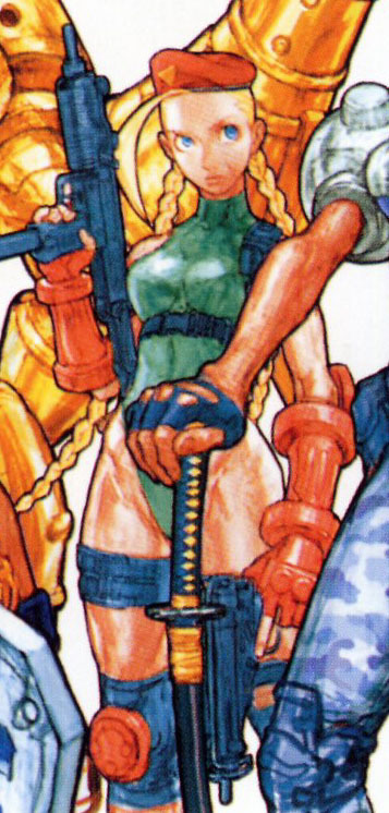 Cammy in Cannon Spike