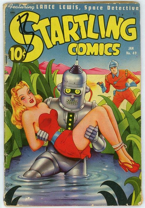 Startling Comics #49