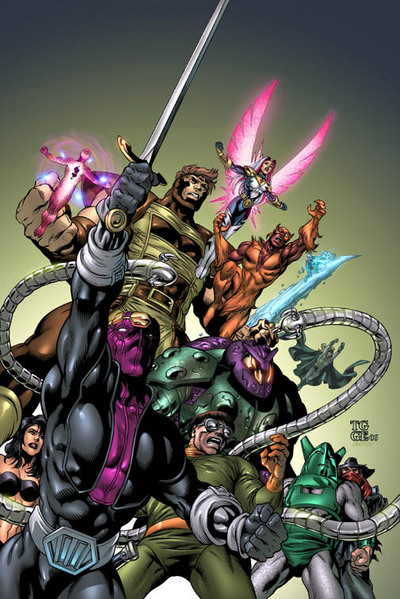 Zemo And His Team