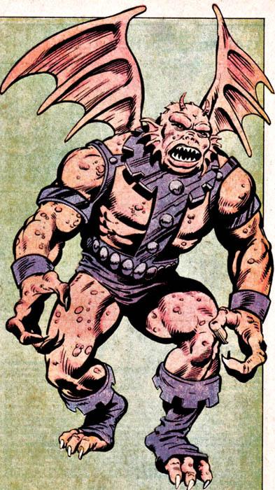Isaac as the Gargoyle