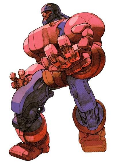 The Sentinel in Marvel vs. Capcom 2